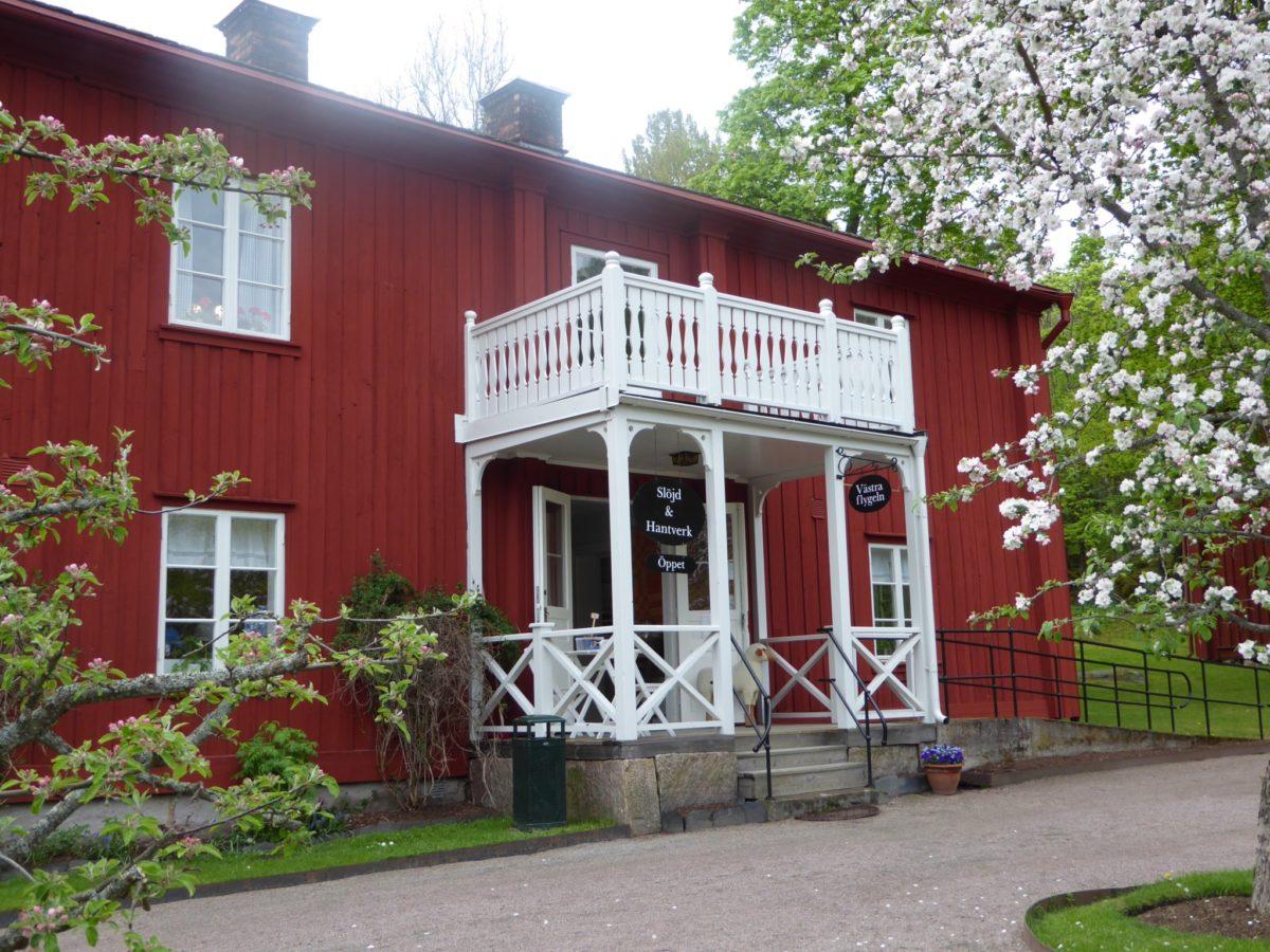 Butiken på Alster på våren